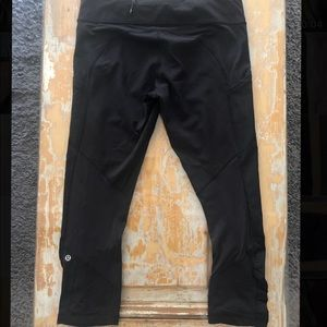 Lululemon Leggings Ruched Capri